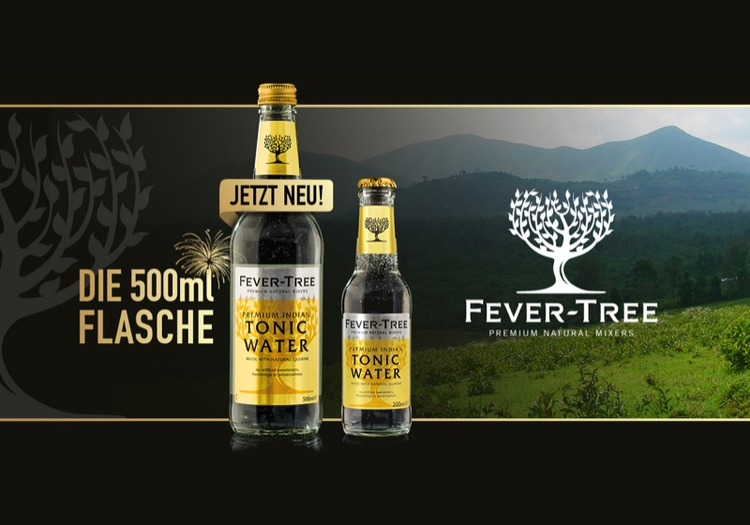 Fever-Tree 500ml Premium Indian Tonic Water Flasche