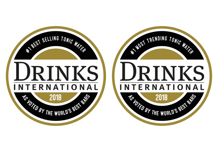 "Drinks International Awards 2018 ""Best Selling"" und ""Top Trending"" Tonic Water"