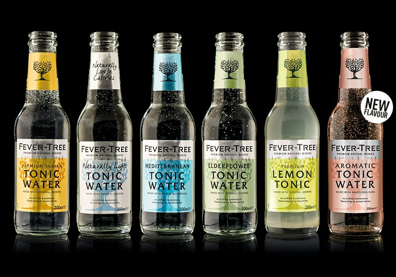 Fever tree premium tonic water mixer drinks best tonic for Best mix with gin